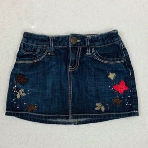 GAP girls denim Skirt Size 8 Regular